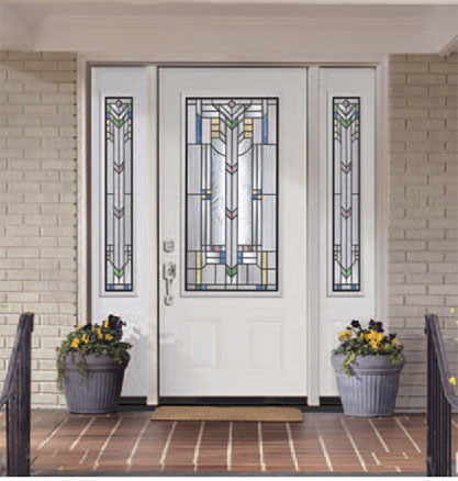 Steel entry doors residential and commercial for Exterior side entry doors